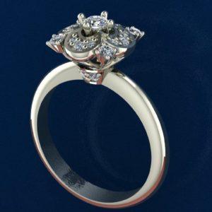 Женские кольца  Н235